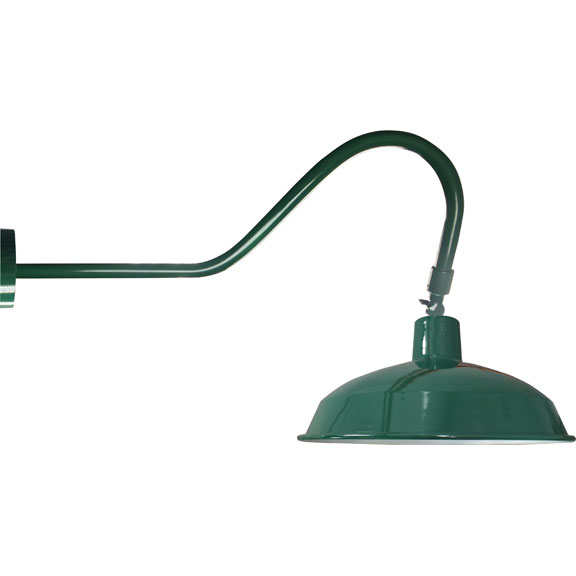 Barn light DOME gooseneck lighting