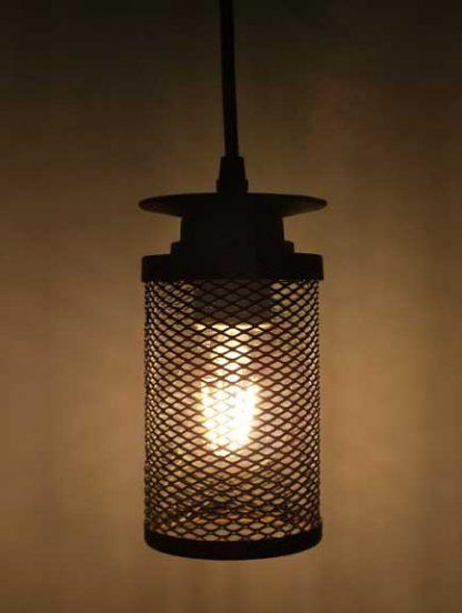 luminaire médiéval forge