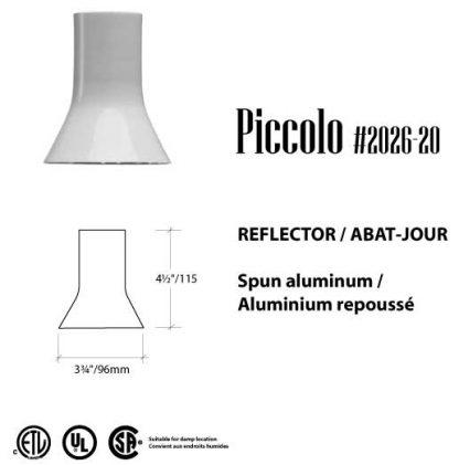 RLM reflector Piccolo LED