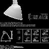LED outdoor lighting gooseneck