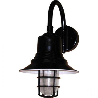 Nautical lighting vintage with grid in LED. Outdoor certified.