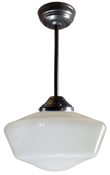 classic lighting schoolhouse 16 pendant